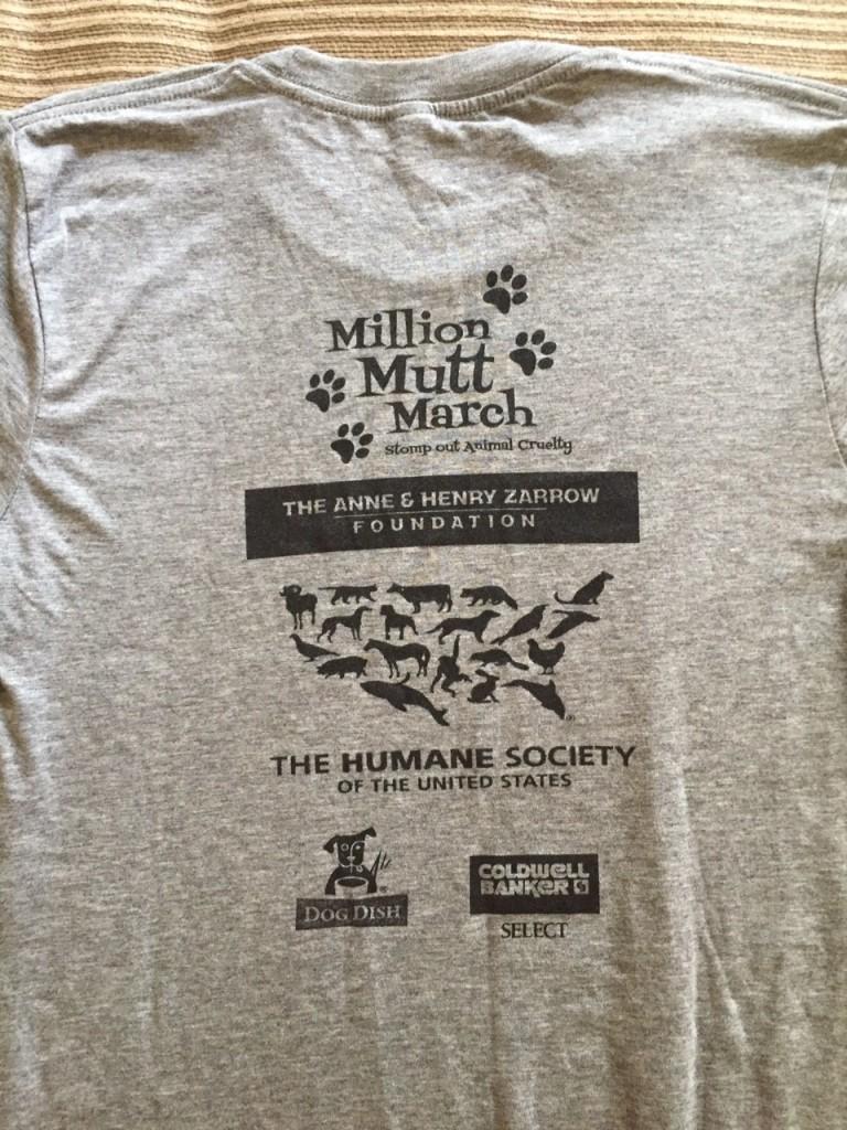 2015 Million Mutt March back