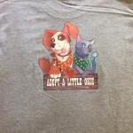 Adopt A Little Okie t-shirt back